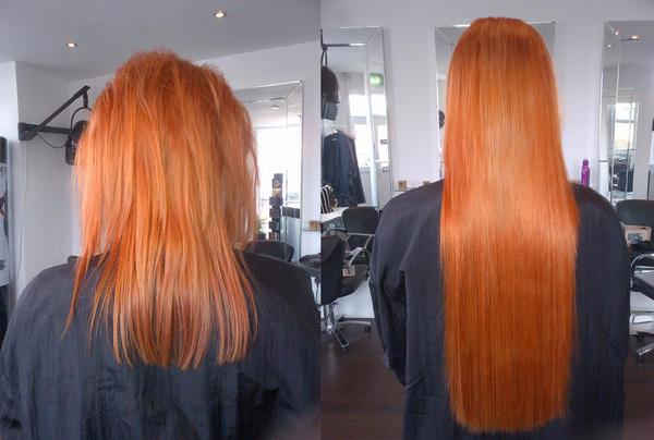 human hair extensions