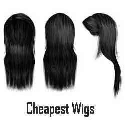 chap lace front wigs