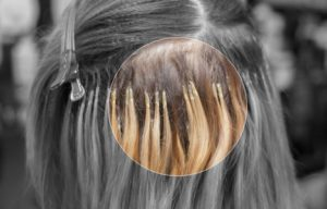 Keratin bonds hair damage