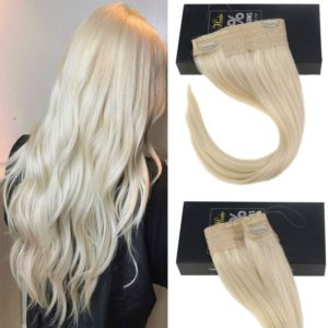 halo hair extensions for fine hair